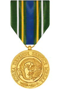 Medals of America Korean Defense Service Medal Anodized