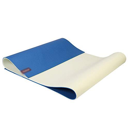 HBKJ Yoga mat Yoga mat/Non-Slip Stable Fitness mat, Yoga mat, Environmentally Friendly and Tasteless Exercise mat, Beginner Anti-Ripper Exercise mat, Yoga Blanket