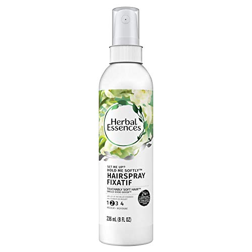 Herbal Essences Set Me Up Hold Me Softly Non-Aerosol Hairspray 8 Fl Oz (Pack of 3)