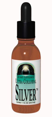 Source Naturals Ultra Colloidal Silver Liquid, 10 ppm, 2 Ounce