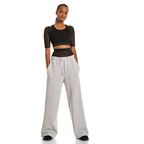 - PUMA x Selena Gomez Women's Sweatpants, -Light Gray Heather, L