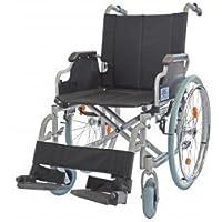 Trendmobil TML Leichtgewichtrollstuhl mit Steckachsensystem Sitzbreite 42 cm Faltrollstuhl Transportrollstuhl Reiserollstuhl Rollstuhl HMV 18.50.02.2102 Gewicht 13,6-15 kg Belastbarkeit 135 kg