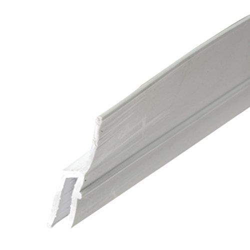 CRL White Rigid Vinyl Lip Frame - 72 in Long