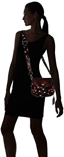 01 Body Laura Dieppe Bag Vita Black Cross Women's Noir w44TvqU