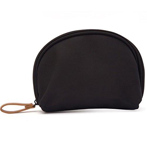 DuShow Women Ladies Cosmetic Bag Storage Bag Small Carrying Case Portable Waterproof Travel Portable Mini Makeup Bag (20CM16CM, (Skull Makeup Kit)