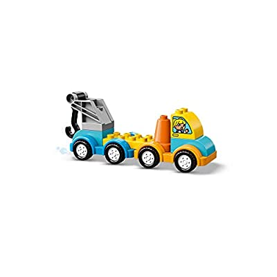 LEGO DUPLO My First Tow Truck 10883 Building Blocks (11 Pieces): Toys & Games