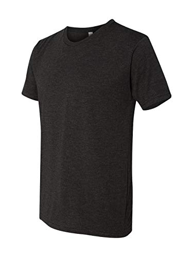 - Next Level 6010 Men's Tri-Blend Crew Tee - Large - Vintage Black