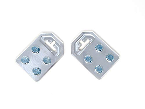 Pair of Sky High Car Audio Any GA (4) Spot Flat Battery TERMINALS Bolt USE ONLY