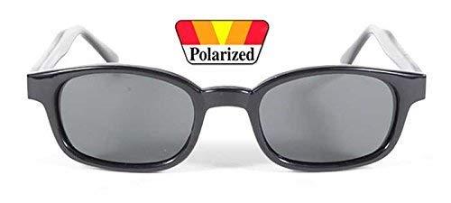 gafas de sol originales KDs Polarizadas Gris 2019 - bikers