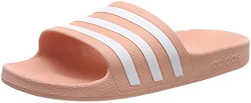 shades of how to buy buy sale Adidas ADILETTE AQUA, Women's Slippers, Pink (Dust Pink/Ftwr ...