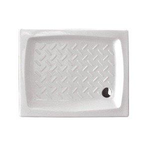 Ceramica Dolomite Piatto Doccia Onda.Piatto Doccia In Ceramica Cm 70x100 Rettangolare Topazio