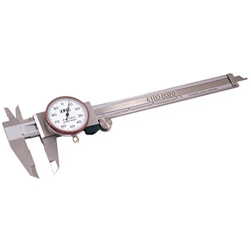 Pro Series by HHIP 4100-0020 Pro-Quality Dial Caliper, 6'' by HHIP
