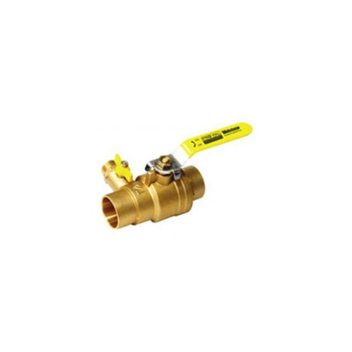 Webstone 50613 3/4-Inch SWT Pro-Pal Ball Valve with Hi-Flow Hose -