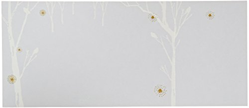 George Stanley Winter Trees Perforated Imprintable Invitation, 10-Count - Birthday Invitations Imprintable