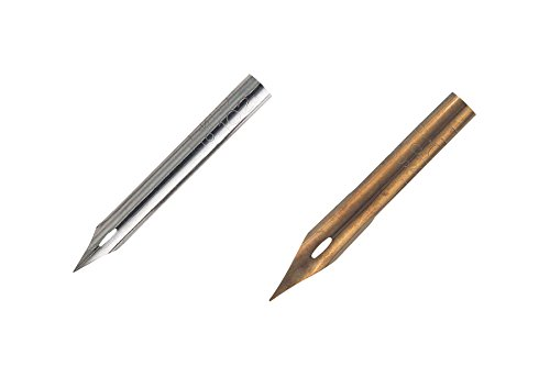 Speedball Assorted Hunt Artists' Pen Nibs no. 102 and no. 108 Pack of - Pen Point Hunt