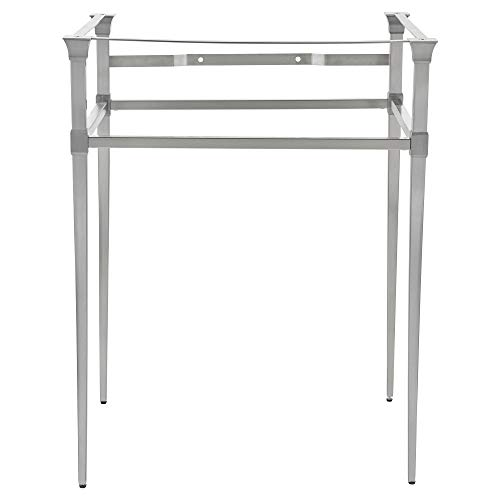- American Standard 8721000.295 Town Square S Console Table, Brushed Nickel