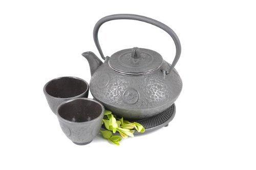 Happy Sales Happy Sales Cast Iron Tea Pot Tea Set Ancient Co