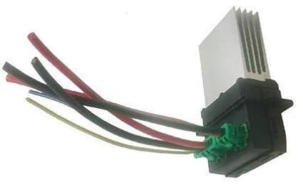 Resistenza ventilatore ventilatore motore riscaldatore con cablaggio spina per 6441L2 EBTOOLS Resistenza motore ventilatore