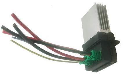Suuonee Blower Motor Resistor, Heater Motor Blower Fan Resistor with Wiring Plug Harness OE: 6441L2: