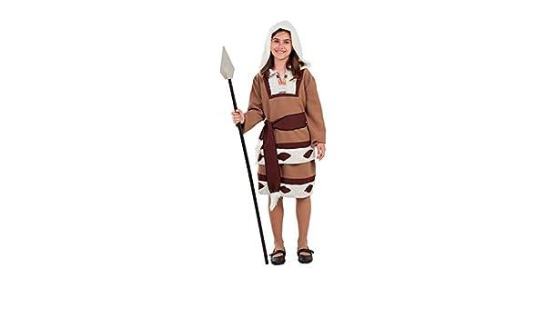 DISBACANAL Disfraz de Esquimal para niña - -, 12 años: Amazon.es ...