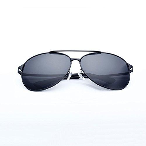 Marco C 400 Con Color Metal Lente Para Protección Con HAIYING HD Para De Hombres UV Hombre Polarizadas Gafas B Estuche Sol De De awqP1T