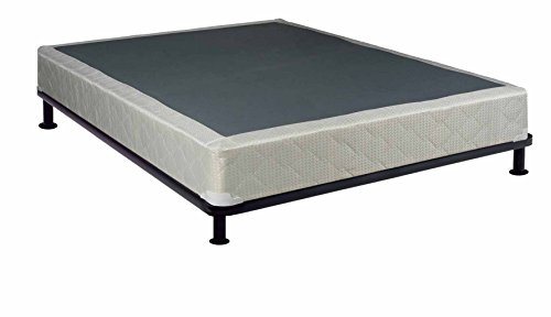 Continental Sleep Size 8 Fully Assembled Foundation for Mattress, Queen