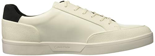 Leather Box Klein White Grain Calvin Izar Men's Sneaker Scotch RYTOxan