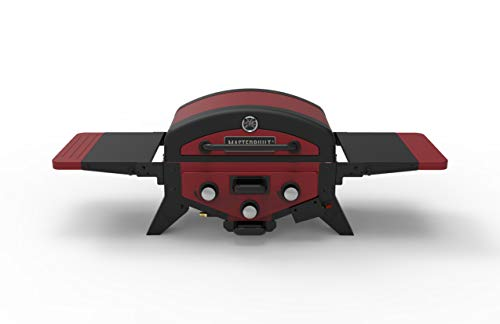 Masterbuilt MB20030619 MPG 300S Tabletop Gas Grill, Red (Newer Version)