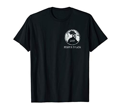Vintage 2019 Pebble Beach Golf 2-Sided T-Shirt