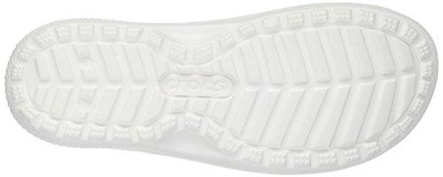 white Crocs Unisex Classic Ciabatte Slide – Adulto Bianco 0qH07Br