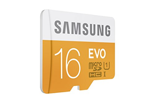 Samsung 16GB up to 48MB/s EVO Class 10 Micro SDHC Card with Adapter (MB-MP16DA/AM) 2 Capture faster Transfer faster A perfect partner