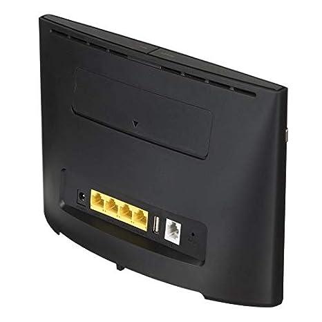 Noir Nero Unit/é Certificat Huawei b525s-23/a WLAN Routeur