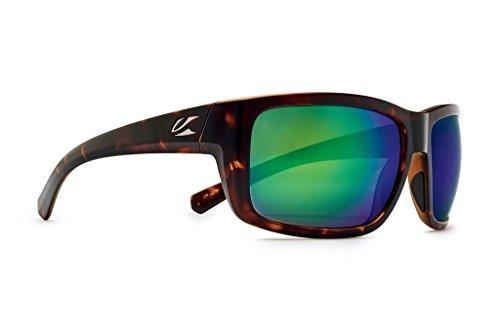 Kaenon Men's Redwood Sunglasses (Matte Tortoise, Coastal Green ()