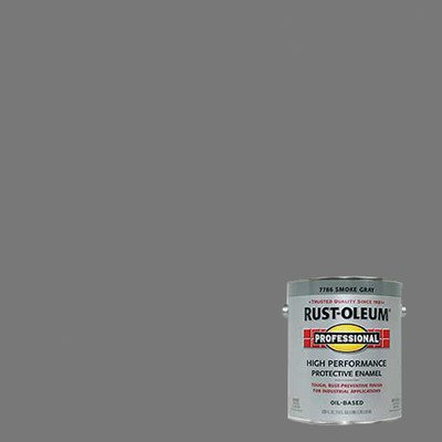 (1 Gallon Smoke Gray Protective Enamel Oil Base Paint 7786-402 [Set of)