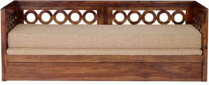 Craftatoz Single Solid Wood Sofa Cum Bed