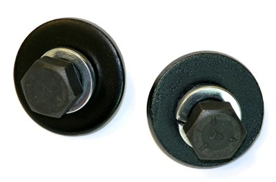 (I-9-6) 1964-72 A F X Body Transmission Crossmember Center Mount Bolts & Washers Hardware