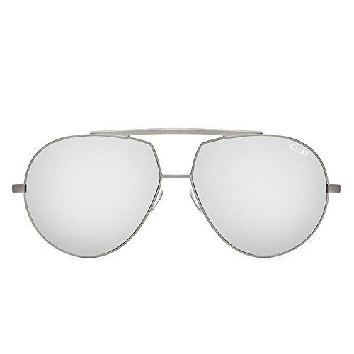 Quay Australia BLAZE Men's Sunglasses Oversized Aviator Sunnies - - Sunny Blaze