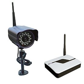 Astrotel WD1-C/CAM 2.4GHz H.264 Digital Wireless Transmitter with Color CCD Camera and Receiver 2.4 Ghz Video Sender