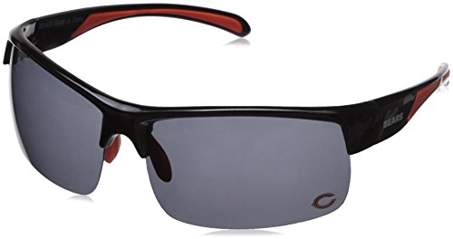 NFL Chicago Bears Sport Blade Polarized - Sunglasses Ditka Mike