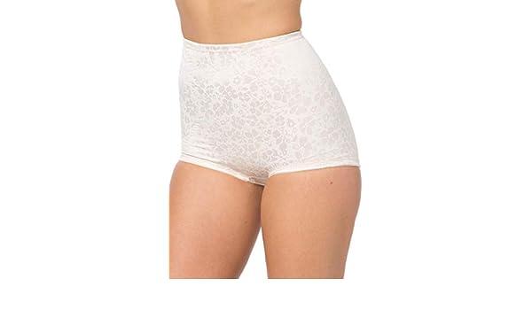 Blush Cortland Womens Plus Size Cortland Intimates Firm Control High-Waist Brief #4234-2X