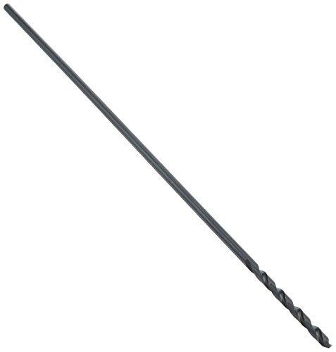 Irwin Tools 62112ZR Single Black Oxide High-Speed Steel Drill Bit, 3/16