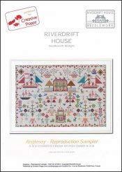 - Anglesey Reproduction Sampler Cross Stitch Chart