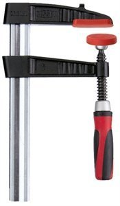 Bessey TG4.512+2K 0-12 Medium Duty TG Malleable Cast Bar Clamp with 2K Handle by Bessey