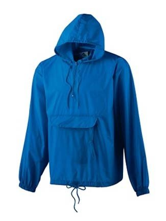 Amazon.com: Adult Water-Resistant Pullover Jacket In A Pocket ...