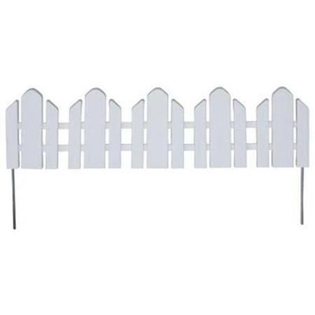 EmscoGroup 2090HD Dackers Resin Adirondack Style Garden Fence, 22 ft. Review