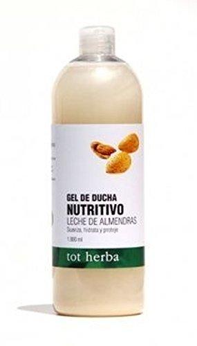 Gel Baño Nutritivo Leche De Almendras 1000 ml de Tot Herba-Authex