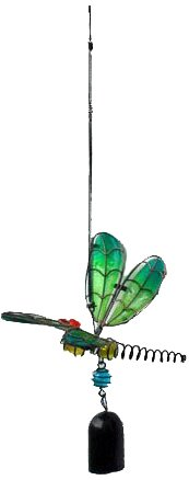 Continental Art Center CAC10195A Dragonfly Wind Chime