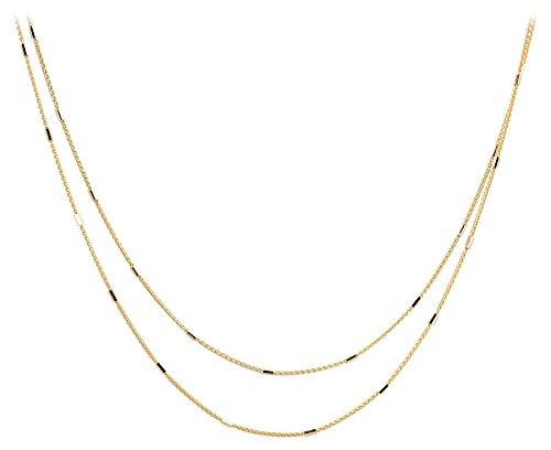 LP Créations - C56811 : Collier Femme Or 18K jaune