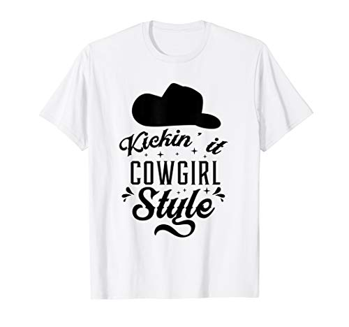 d14999ede0a Princess Cowboy Hat Western Cowgirl Girls Line Dance Gift T-Shirt