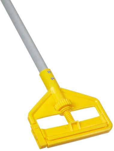 Rubbermaid Commercial Invader Side Gate Wet Mop Handle, 54-Inch, FGH145000000